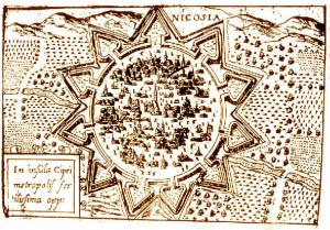Old Nicosia Map